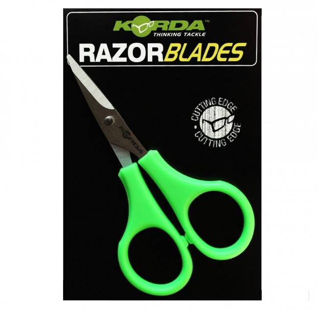 Ножницы для плетеных шнуров Korda Razor Blades