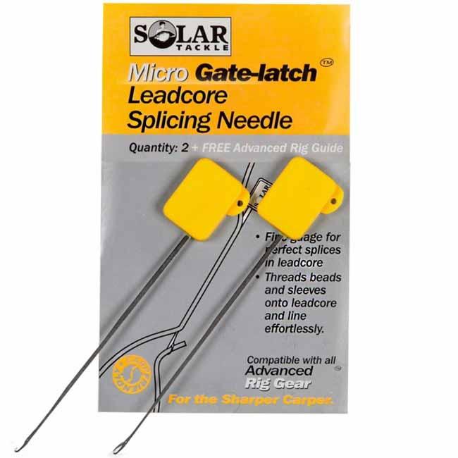 Иглы для вязки ледкора Solar Splicing Needles Micro (2 шт. в упаковке)