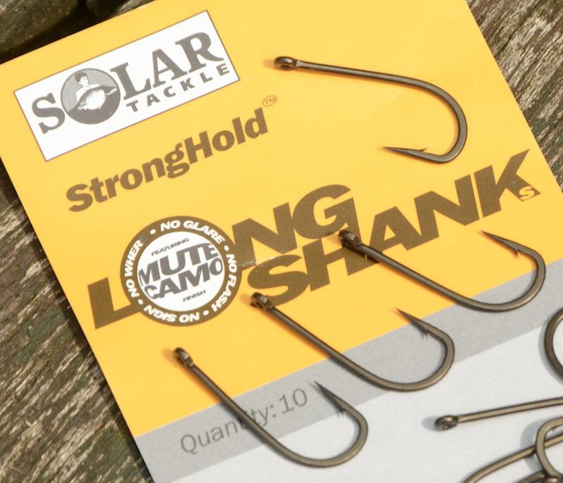 Крючки Solar Stronghold Longshank Size 1