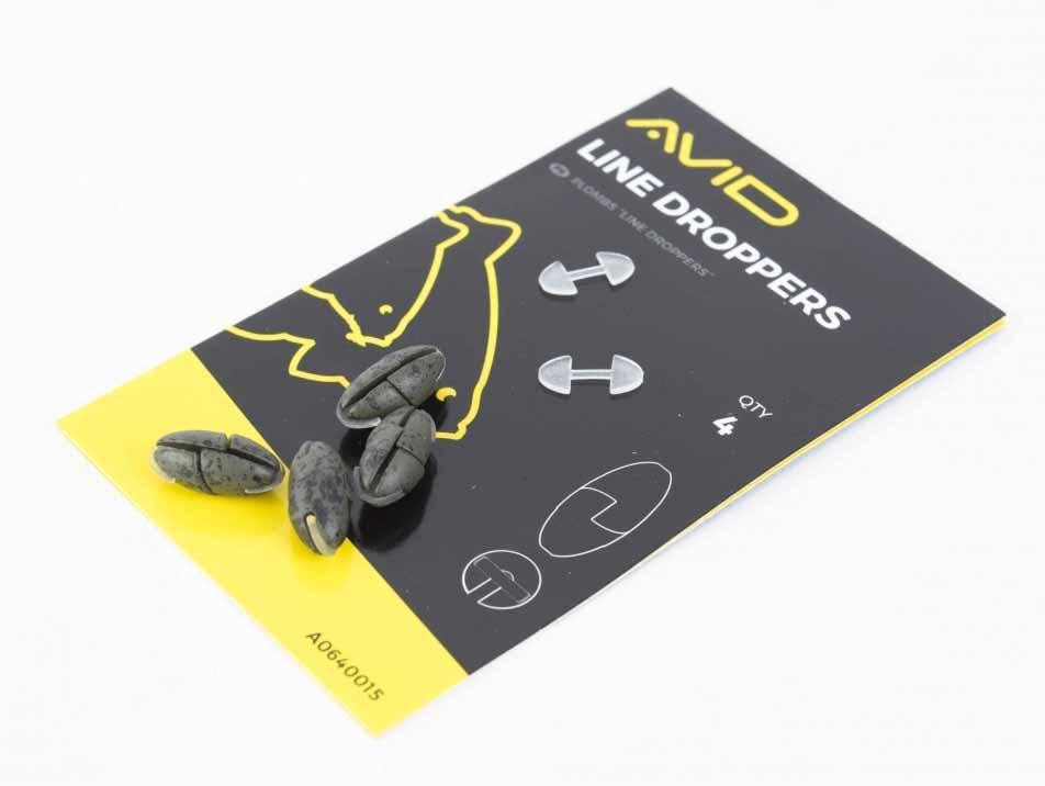 Огрузка для поводка Avid Carp Outline Line Droppers (4 шт. в упаковке)