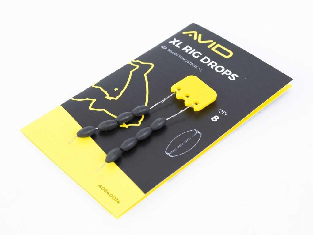 Огрузка для поводка Avid Carp Outline XL Rig Drops (8 шт. в упаковке)