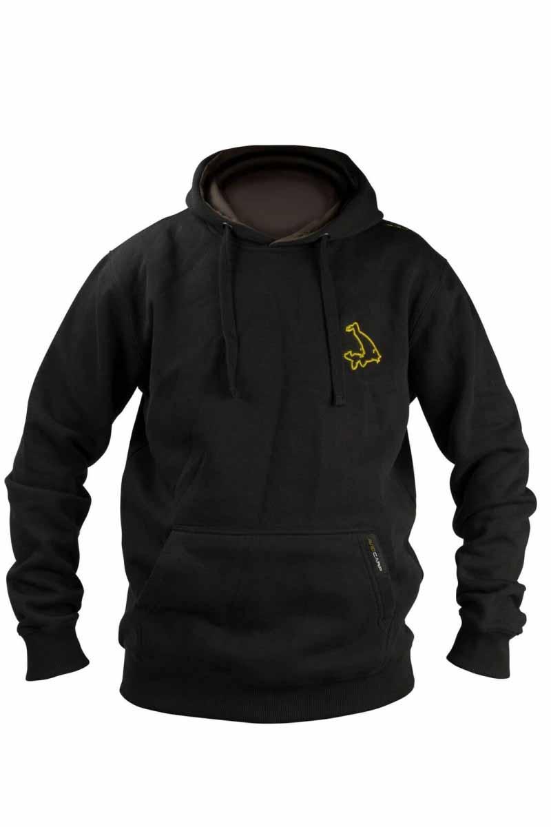 Толстовка с капюшоном Avid Carp Black Hoodie XL