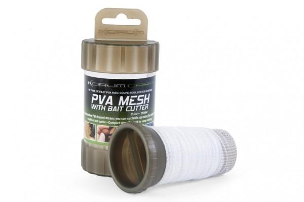 ПВА-система без плунжера Korum PVA Mesh and Bait Cutter 35 мм. 2,5 м.