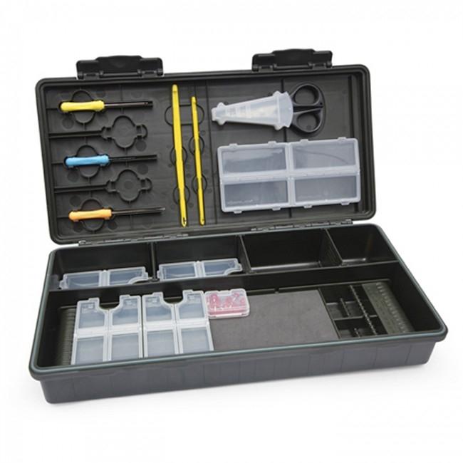 Коробка с набором инструментов Korum Maxi Rig Fully Loaded