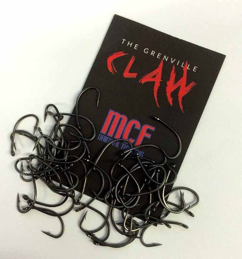 Крючки MCF Grenville Claw Hook Size 8