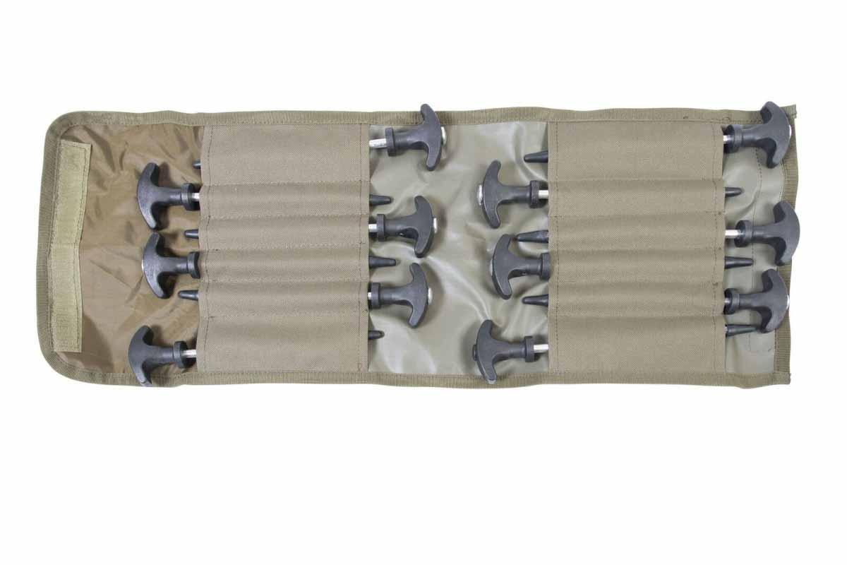 Колышки для палатки Avid Carp Superlite Bivvy Peg Set 12 шт.