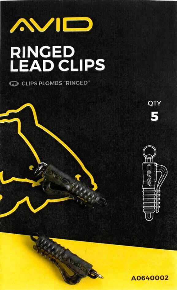 Клипса для грузил Avid Carp Outline Ringed Lead Clips
