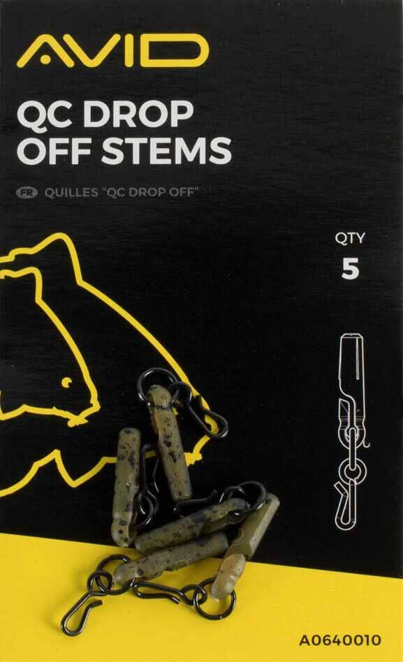 Втулка резиновая с вертлюжком Avid Carp Outline QC Drop-OFF Stem