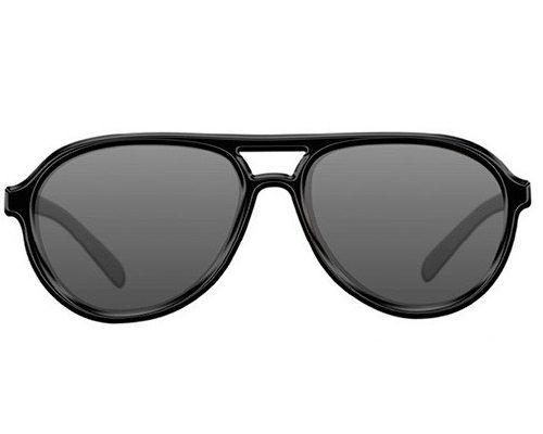 Очки Korda Sunglasses Aviator Mat Black Frame/Grey Lens