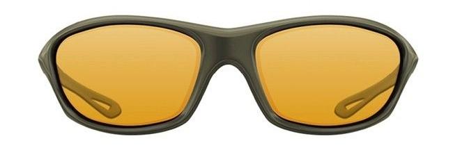Очки Korda Sunglasses Wraps Gloss Olive/ Yellow Lens