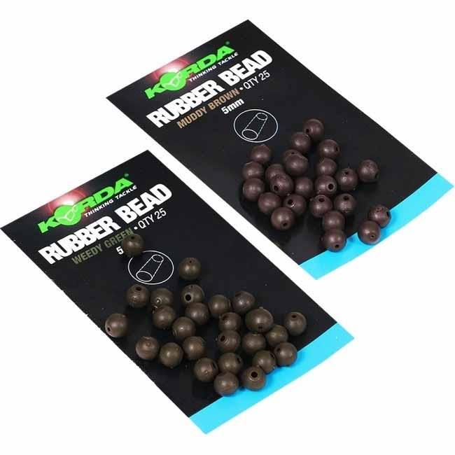 Бусина резиновая Korda Safe Zone Rubber Bead 5мм Green