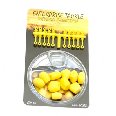 Плавающая кукуруза Enterprise Tackle Imitation Sweetcorn Buoyant Yellow