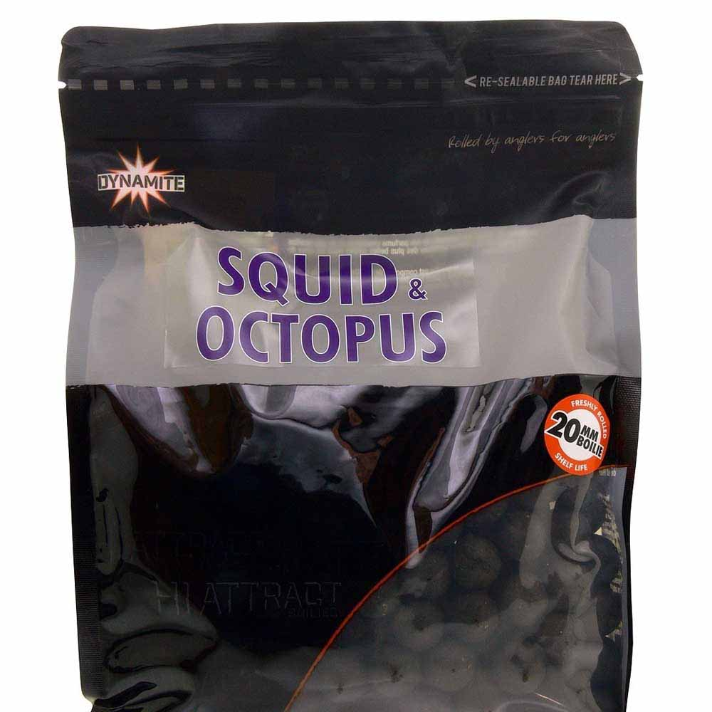Бойлы тонущие Dynamite Baits Squid & Octopus 10 мм. 1 кг.
