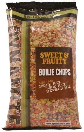 Бойлы резаные Dynamite Baits Sweet & Fruity 2 кг.