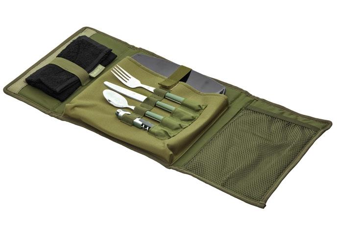 Компактная сумка-чехол со столовыми принадлежностями Trakker NXG Compact Food Set