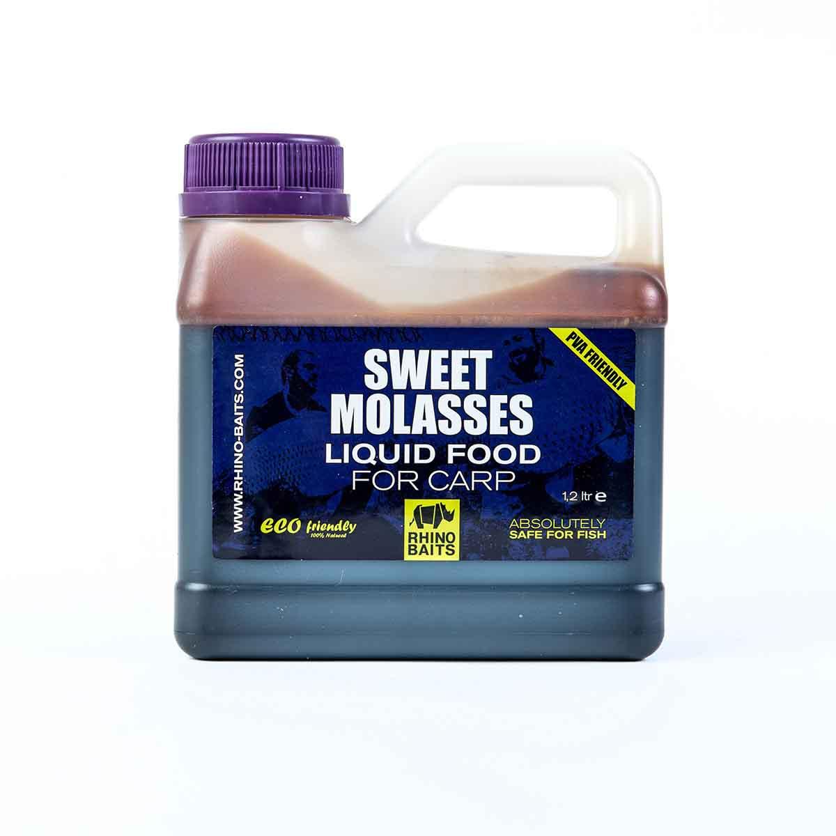 Жидкое питание для карповой ловли Sweet Molasses (канистра 1.2 л)