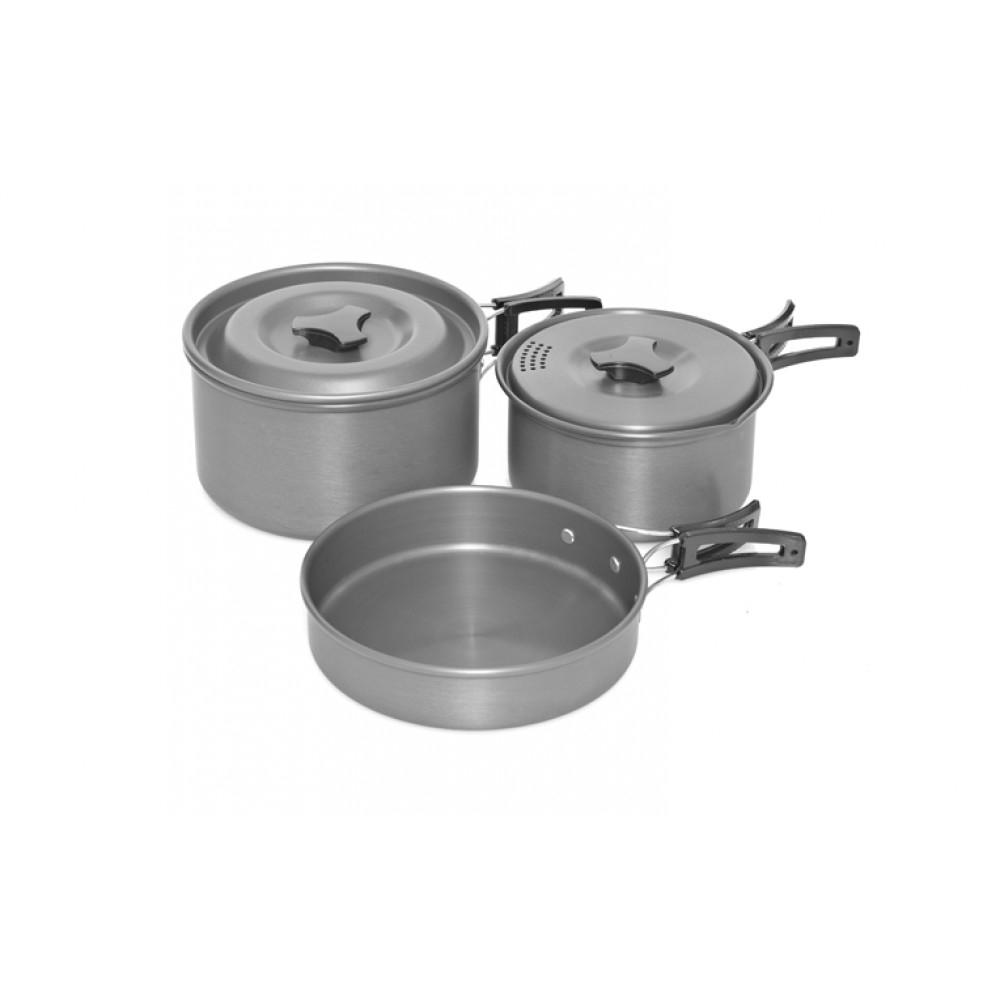 Набор кухонной утвари Trakker Armolife 3 Piece Cookware Set