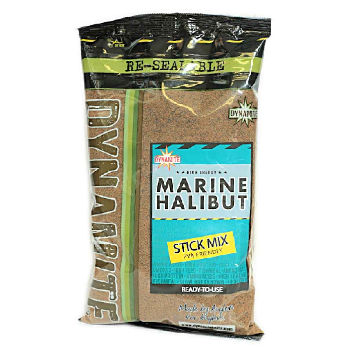 Смесь для PVA мешков Dynamite Baits Marine Halibut 1 кг.