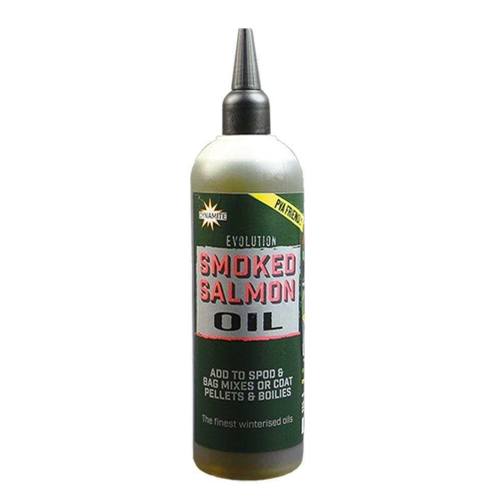 Масло Dynamite Baits Evolution Oils Smoked Salmon 300 мл.