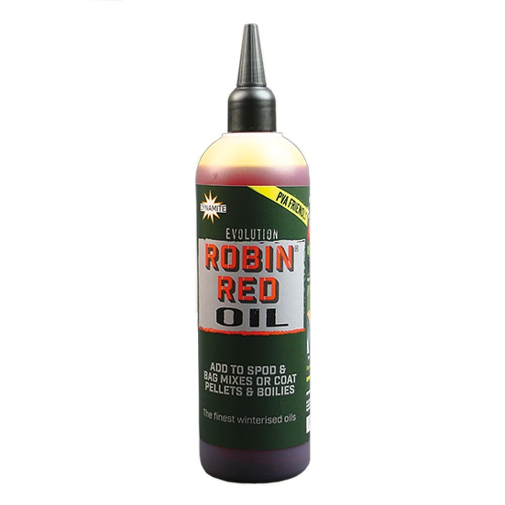 Масло Dynamite Baits Evolution Oils Robin Red 300 мл.
