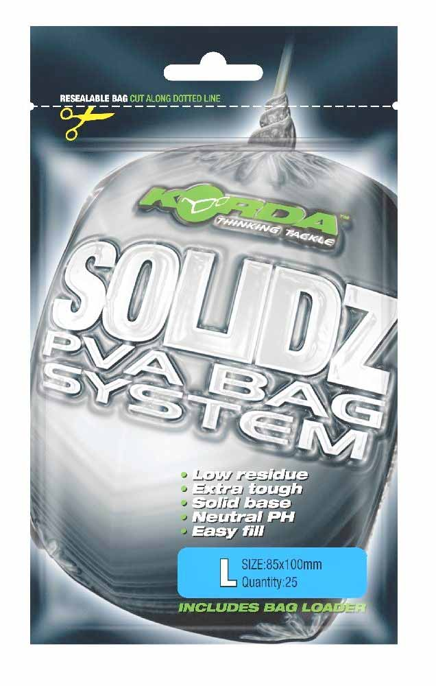 Пакет Korda PVA Solidz Bags 85x110мм