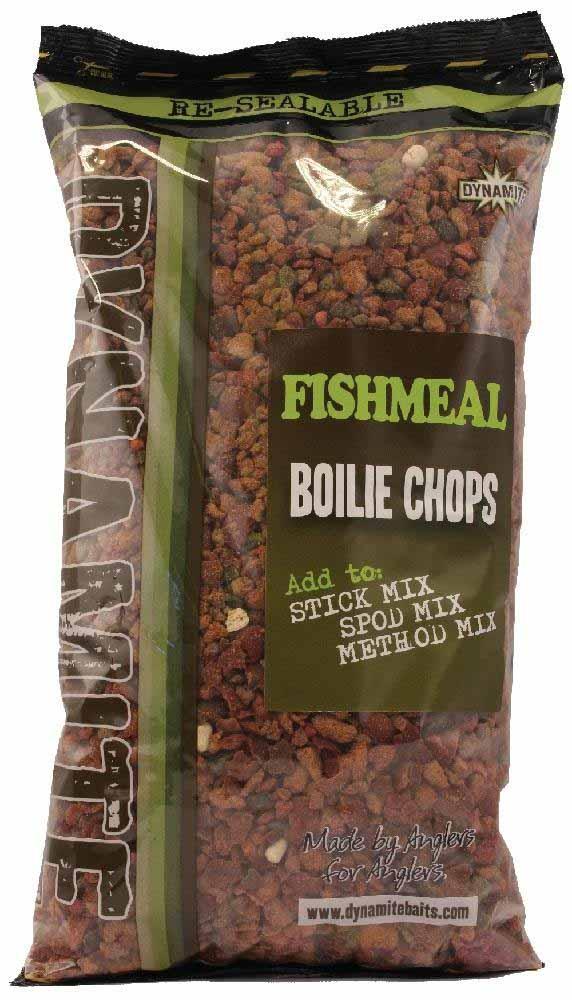 Бойлы резаные Dynamite Baits Fishmeal 2 кг.