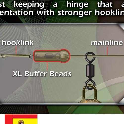 Отбойник Gardner Target XL Mini Buffer Beads Natural Brown