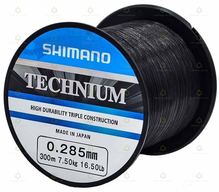 Леска Shimano Technium 300 м. 0,285 мм. PB 7,5кг.