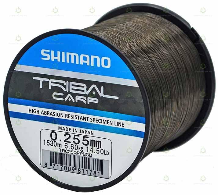 Леска Shimano Tribal Carp 1530 м. 0,255 мм. QP 6,6 кг.