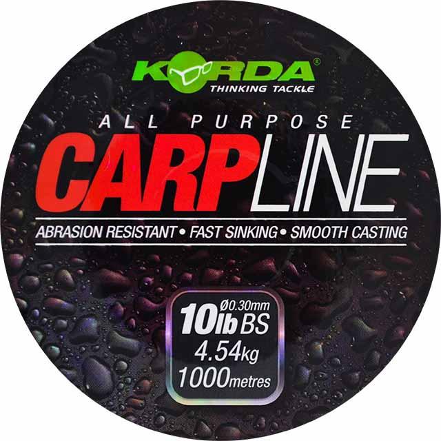 Леска Korda Carp Line 10lb d-0.30мм 1000м