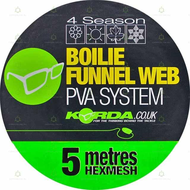 Сетка Korda PVA Boilie Hexmesh Refill 5 м.