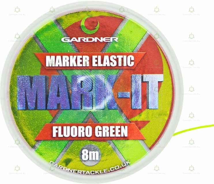 Маркерная резина Gardner MARK-IT Marker Elastic Fluoro Green 8 м.