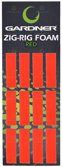 Пена для зиг-рига Gardner Zig Rig Foam Red