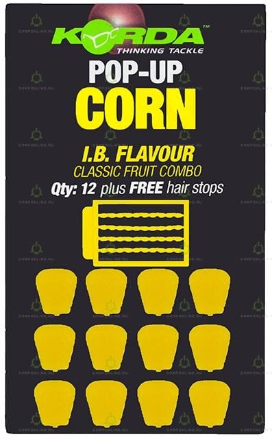 Имитационная приманка Korda Pop-Up Corn IB Yellow