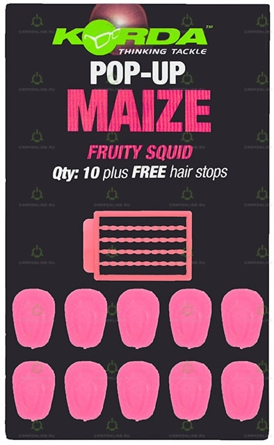 Имитационная приманка Korda Pop-Up Maize Fruity Squid Pink