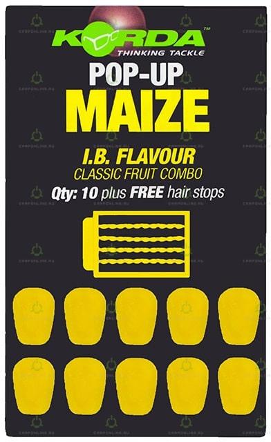 Имитационная приманка Korda Pop-Up Maize I.B. Yellow