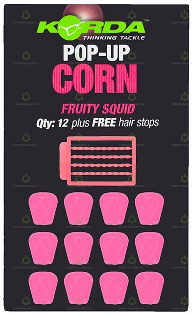 Имитационная приманка Korda Pop-Up Corn Fruity Squid