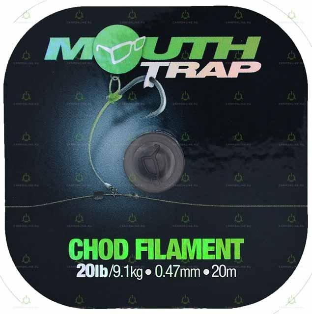 Поводковый материал Korda Mouth Trap 20lb 20м