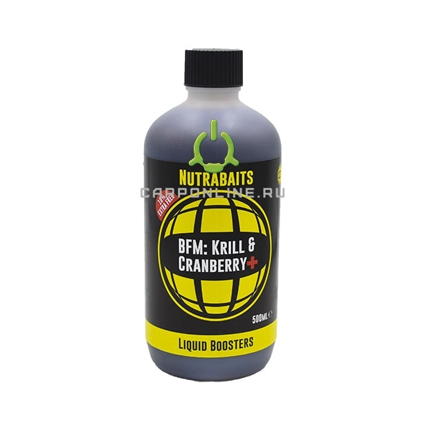 Бустер Nutrabaits Krill&Cranberry+ 500ml