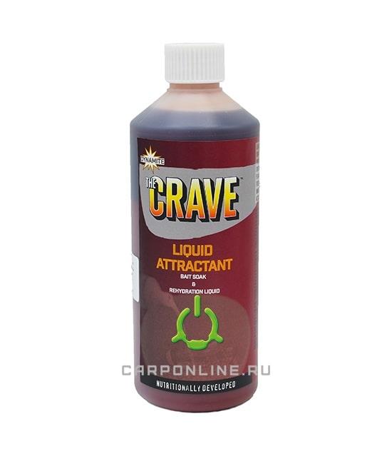 Жидкость Dynamite Baits CRAVE 500 мл.