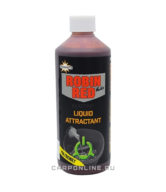 Жидкость Dynamite Baits Liquid Attractant - Robin Red 500мл.
