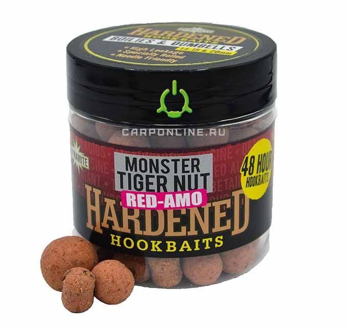 Бойлы и дамбелсы тонущие Dynamite Baits 14мм./15 мм./20 мм. Hardened Hook Baits Red-Amo