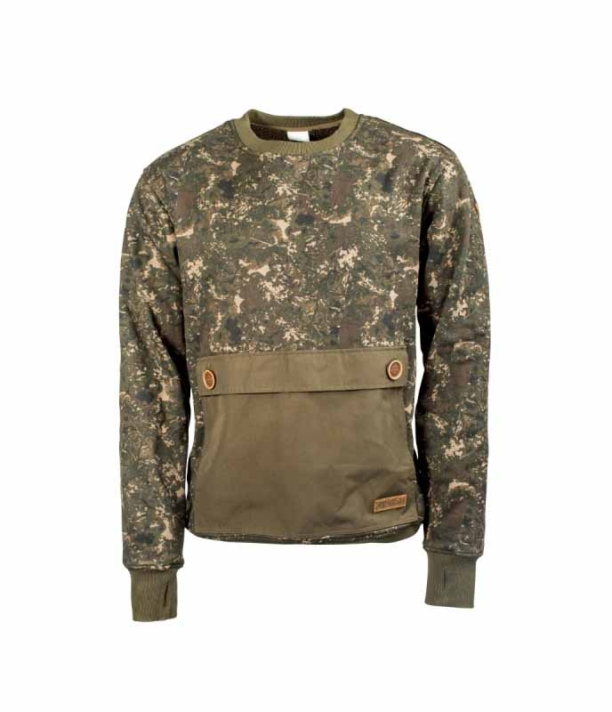 Свитер Nash ZT Camo Heavyweight Jumper Large
