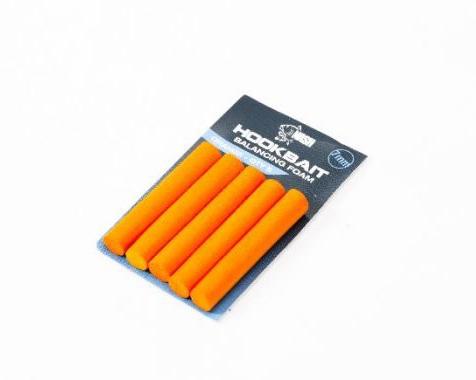 Плавающая пена Nash Hookbait Balancing Foam Orange 7 мм.