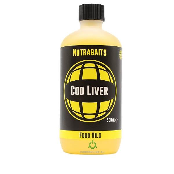 Масло печени трески Nutrabaits Cod Liver Food Oil