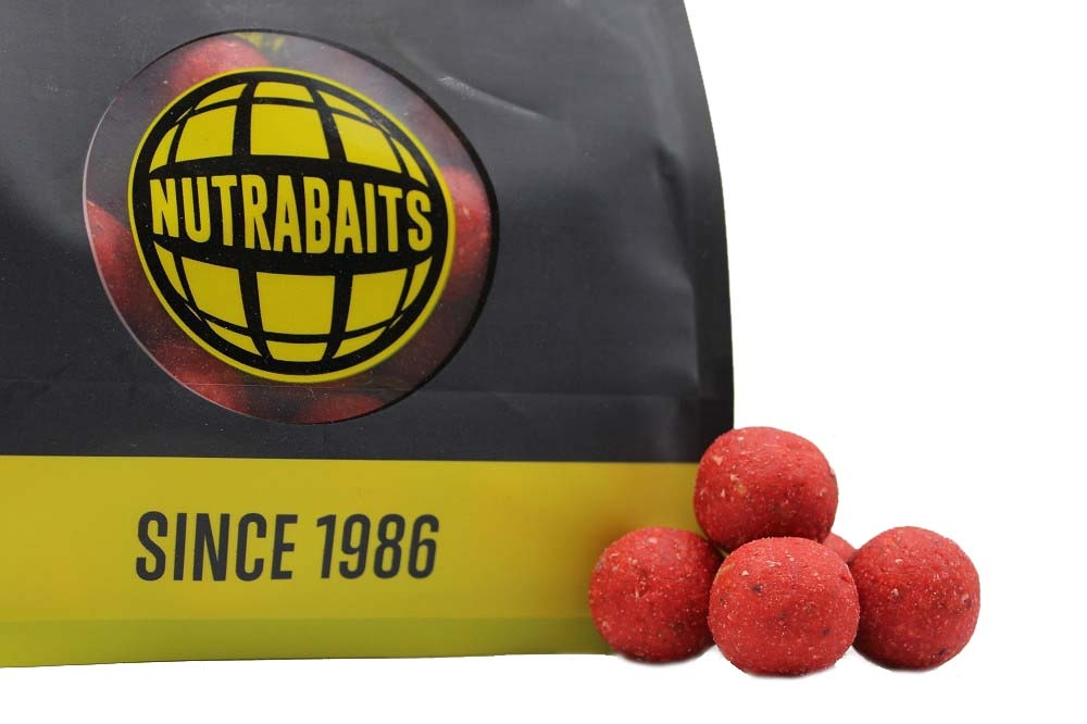 Бойлы shelf-life Nutrabaits Strawberry Cream & Bergamot 15мм