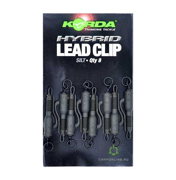 Клипса безопасная Korda Hybrid Lead Clip Silt