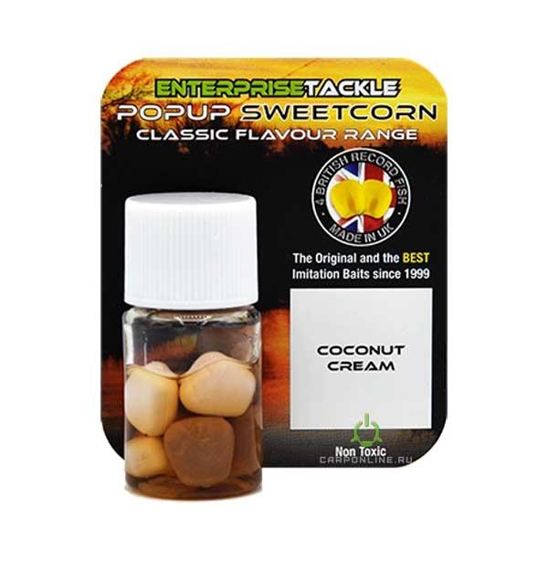 Искусственная кукуруза в ароматизаторе Enterprise Tackle Coconut Cream