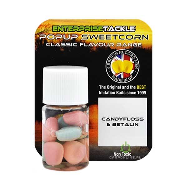 Искусственная кукуруза в ароматизаторе Enterprise Tackle Candyfloss & Betalin