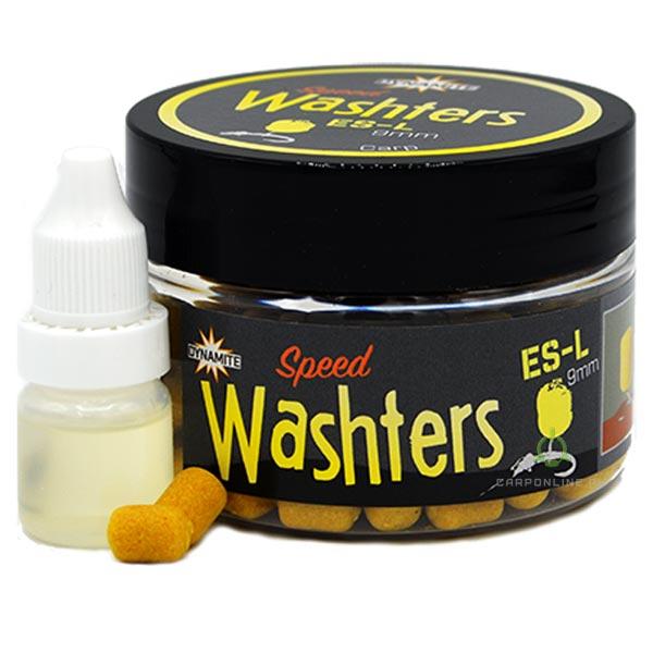 Насадка DYNAMITE BAITS Speedy's Washters Yellow ES-L - 9мм.